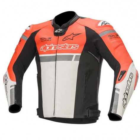 GIACCA ALPINESTARS MISSILE IGNITION Red Fluo/White/Black (3001)