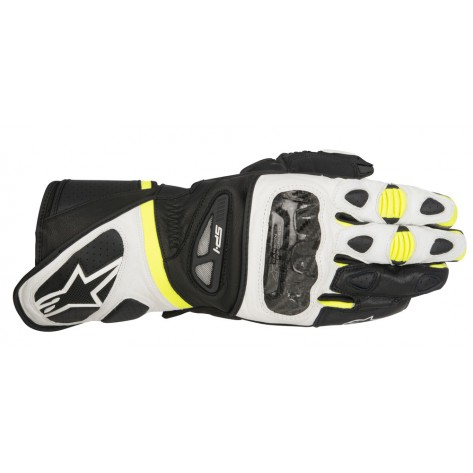 GUANTO ALPINESTARS SP-1 Black/White/Yellow Fluo