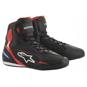 SCARPA ALPINESTARS HONDA FASTER-3 Black/Red/Blue (183)