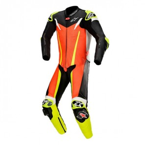 TUTA ALPINESTARS GP TECH V3 Red Fluo/Black/Yellow Fluo (3105)