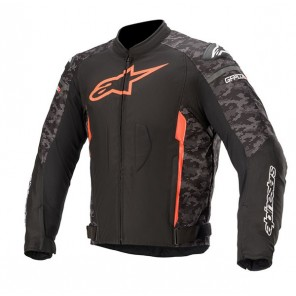 GIACCA ALPINESTARS T-GP PLUS V3 Black/Camo Red Fluo
