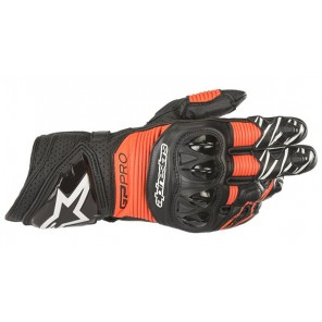 GUANTO ALPINESTARS GP PRO R3 Black/Red Fluo