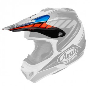 FRONTINO ARAI MX-V RUMBLE BLUE