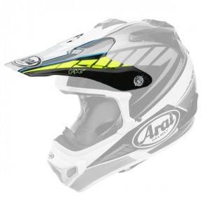 FRONTINO ARAI MX-V RUMBLE YELLOW