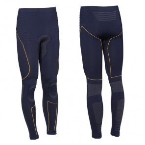 TECH 2 BASE LAYER PANTS Blue/Yellow