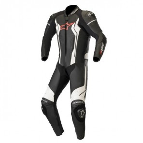 TUTA PELLE ALPINESTARS GP FORCE 1 PC Black/White