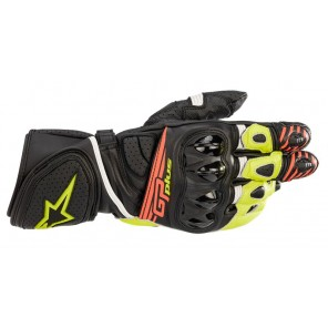 GUANTO ALPINESTARS GP PLUS R V2 Black/Yellow Fluo/Red