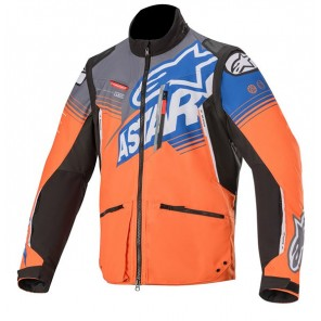 GIACCA ALPINESTARS VENTURE ORANGE GRAY BLUE
