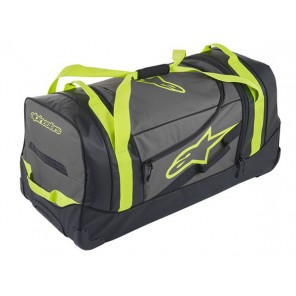 KOMODO TRAVEL BAG Black/Anthracite/Yellow fluo