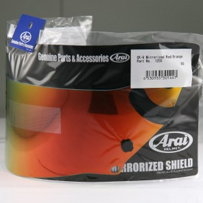 VISIERA ARAI CK-6 Mirror Red/Orange